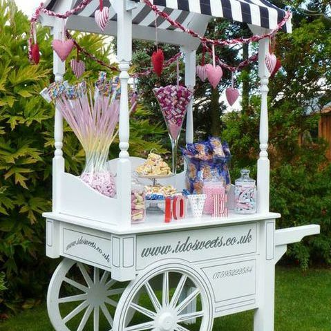Zoe Stockwell Sweets and Candies Cart