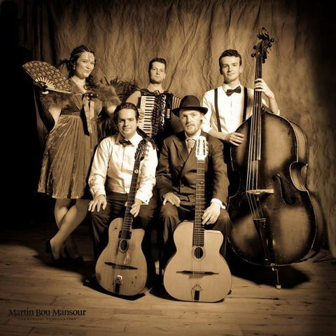 Cafe Manouche Gypsy Jazz Band