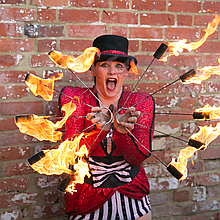 Circus Antics Wedding Magician