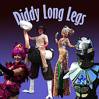 Diddy Long Legs Stilt Walker