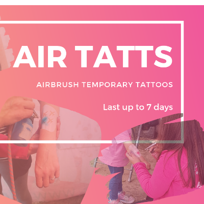 Air Tatts Face Painter