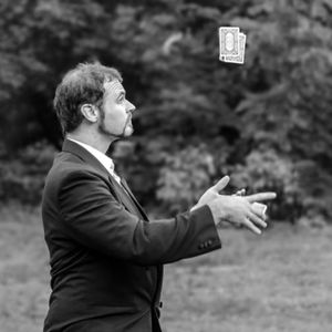 Juggling Jack Flash Close Up Magician