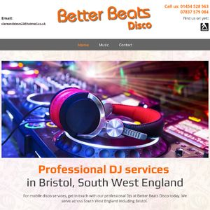 Better Beats Disco Wedding DJ