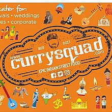 Curry Squad Catering Artisan Indian Street Food Street Food Catering