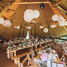 Tipi At The Creek Marquee & Tent