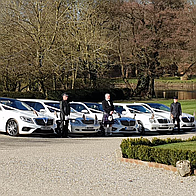 Simons White Wedding Cars Chauffeur Driven Car