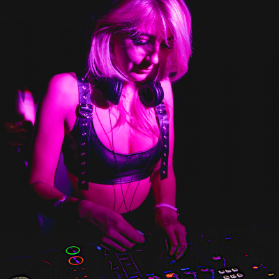 Lucy Jane DJ Bar Staff