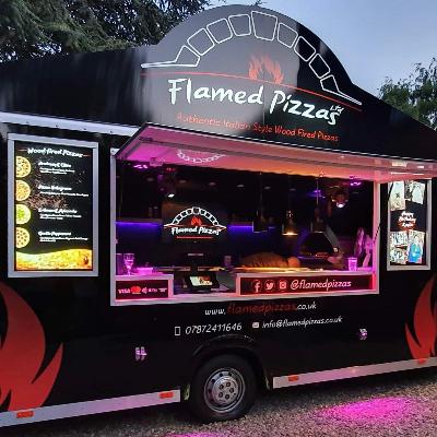 Flamed Pizzas Ltd Pizza Van