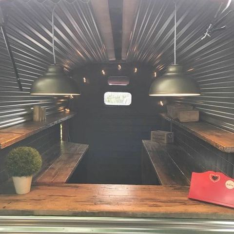 Burgers and Relish Vintage Event Catering Crepes Van