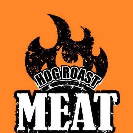 Meat outdoors Hog Roast