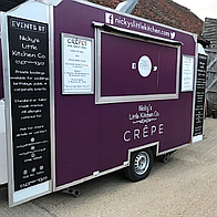 Delicious Crepes Wedding Catering
