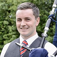 Callum Russell Bagpiper for Hire Bagpiper