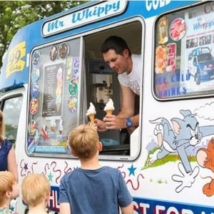 Mr Whippy Cheltenham Ice Cream Cart