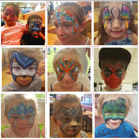 Clairesfunfaces - Children Entertainment , Coventry,