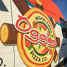 Oggies Wood Fired Pizza Co Pizza Van