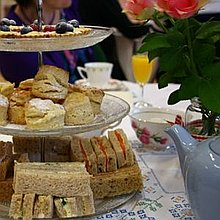 Very Vintage Tea Party Buffet Catering