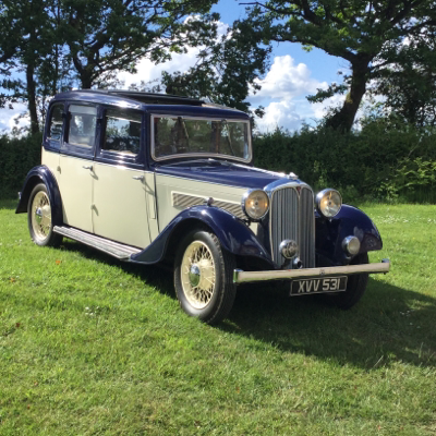 Devon Classic Hire Vintage & Classic Wedding Car