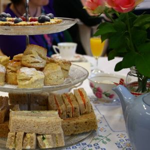 Very Vintage Tea Party Wedding Catering