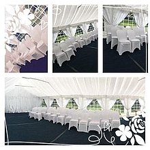 2 Hearts Leisure Chair Covers