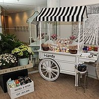 Cloud 9 Event Hire Sweets and Candies Cart