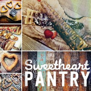 Sweetheart Pantry Sweets and Candy Cart