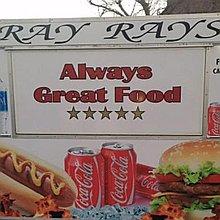 Ray Ray's burger bar and catering services Food Van