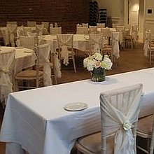Dazzling Decor Weddings and Events Chair Covers