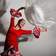 Lucia Flamenco Dancer Dance Act