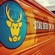 Stag Bites The Hog Burger Van