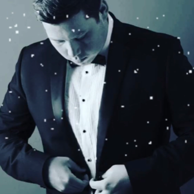 Michael Buble Christmas Tribute Show Singer
