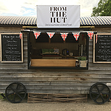 From The Hut Wedding Catering