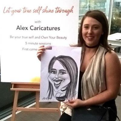 Alex Caricatures Caricaturist