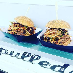 The Pulled Swine Burger Van