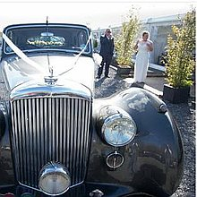 JP Classic Car Hire Chauffeur Driven Car