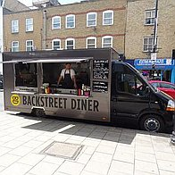 The Backstreet Diner Burger Van