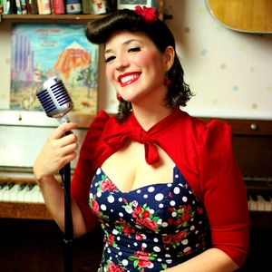 The Vintage Singer - Jess 1920s, 30s, 40s tribute band