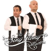 The Sing Along Waiters - DJ , Manchester, Singer , Manchester,  Rat Pack & Swing Singer, Manchester Wedding Singer, Manchester Singing Waiters, Manchester