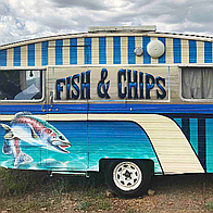 Fish and Chip Van Street Food Catering