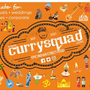 Curry Squad Catering Artisan Indian Street Food Mobile Caterer