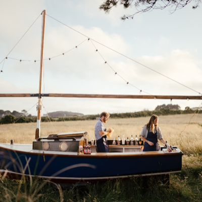 The Little Boat Bar Mobile Bar