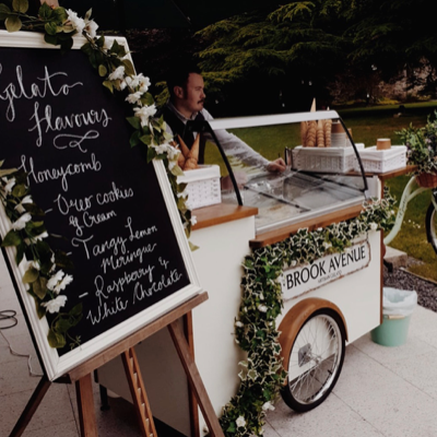Brook Avenue Gelato Ice Cream Cart