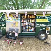 Candy And Curiosities Food Van