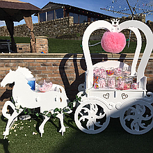 Tillys Treats Sweets and Candies Cart