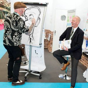 Hire Spot On Caricatures for your event in Leicester