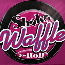 Shake Waffle & Roll Limited Sweets and Candies Cart