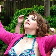 Sarah Swirled Belly Dance Belly Dancer
