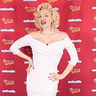 Suzie Kennedy as Marilyn Monroe 1920s, 30s, 40s tribute band