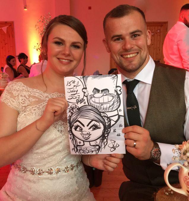 Sean the Caricaturist - Caricaturist  - Blackpool - Lancashire photo