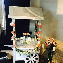 Sweet Treat Parties Popcorn Cart