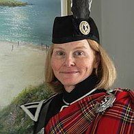 Julia Read Quality Scottish Piper Bagpiper